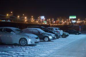 Winter Parking Lot Maintenance