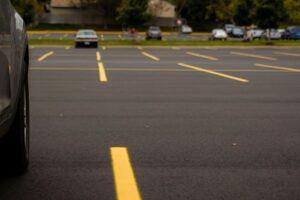 Asphalt parking lot terms